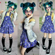 Doll drawing toy New ideas Ooak Dolls, Blythe Dolls, Barbie Dolls, Custom Monster High Dolls, Custom Dolls, Pretty Dolls, Beautiful Dolls, Doll Drawing, Kawaii Doll