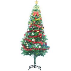 Hunter Pvc Artificial Christmas Tree With Multi-Color Led Lights And Decorations - Feet, Green,,Christmas Day Products,Gifts Products Pencil Christmas Tree, Green Christmas, Christmas Holiday, Light Decorations, Christmas Decorations, Seasonal Decor, Holiday Decor, Cheap Gifts, Xmas Holidays