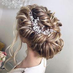 Beautiful Wedding updos for long hair | fabmood.com #weddinghair #weddinghairstyles #bridalhairstyle #weddingupdos #updo #bridalhairvine