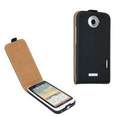 Genius flip leather case for HTC onex  ,mobile phone cases $10.99