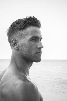 "Bryce Thompson by Scott Teitler | Homotography Mens Haircut   Tell your barber or stylist ""I want it Short On the Sides with a Natural Taper Fade. No fake straight lines on the nape of my neck or the sides."" ZERO, ZIP, ZILCH, NADA! ""Natural Fade""  Or just take this pic,  Ian Zerreg"