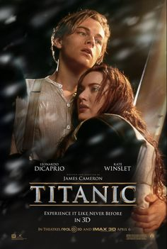 Watch the movie trailer for Titanic on Movie-List. Directed by James Cameron and starring Leonardo DiCaprio, Kate Winslet, Billy Zane and Kathy Bates. A boy and girl from differing social backgrounds meet during the ill-fated maiden voyage of RMS Titanic. Billy Zane, James Cameron, Titanic Le Film, Titanic Poster, Rms Titanic, Titanic Cake, Titanic History, See Movie, Movie Tv