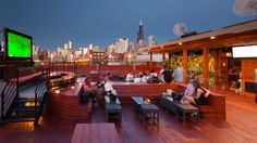 packing house : great rooftop, great view, great dj (west loop)