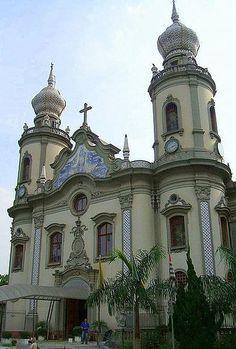 Igreja Nossa Senhora do Brasil - Ouro Preto -  Minas Gerais