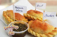Super flavorful empanadas at Last Drop Cafe in Claremont, Ca.