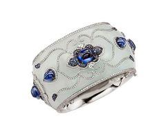 Sapphire & Jade Bracelet by Boghossian