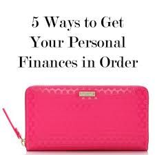 organize personal finances - Google Search