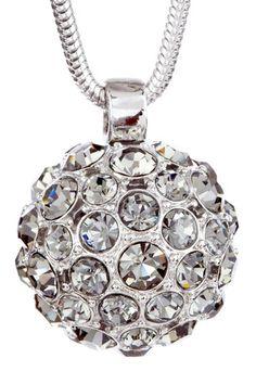 Disco Ball Pendant Necklace