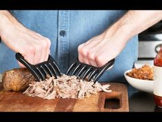 Bear Claws shred meat like a true barbecue boss.