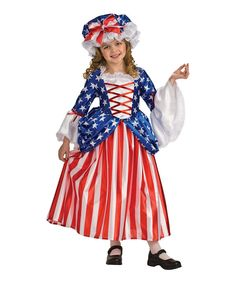 Love this Red & Blue Patriotic Princess Dress-Up Set - Girls by Rubie's on #zulily! #zulilyfinds
