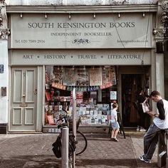 The South Kensington Bookshop Travel Literature, Kensington Books, Beautiful Library, Little Library, Home Libraries, Things To Do In London, Book Nooks, Library Books, Book Lovers