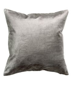 Check this out! Velvet cushion cover in a cotton and viscose blend. Concealed zip. - Visit hm.com to see more.