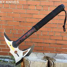16 Survival Camping Tomahawk Throwing Axe Battle Hatchet Hunting Knife 8246 | eBay #survivalhatchet #survivalaxe