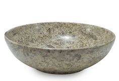 "12"" Laurus Bowl, Fossil Stone on OneKingsLane.com. Beige and grey."