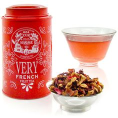 VERY FRENCH® - Infusion de fruits Pomme, fleurs, vanille & caramel