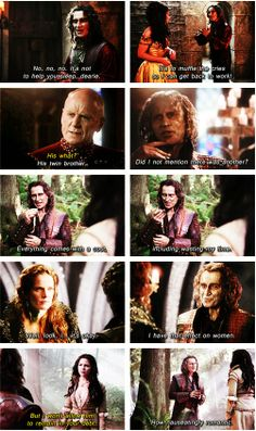 More Rumple sass.