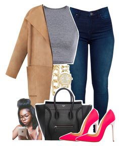 c l e a n . . . by sassy-akia on Polyvore featuring polyvore fashion style Burberry BLANKNYC Christian Louboutin Forever New clothing