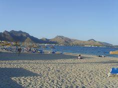 Beach at Puerto Pollensa.