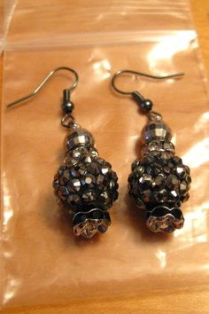 Beautiful Handcrafted Artistic Earrings made from a local artist in Saskatoon.