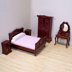 Melissa and Doug Dollhouse Bedroom Furniture | Wayfair