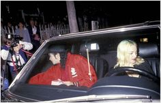 Dinner with Madonna,Ivy Restaurant,LA, March 18, 1991