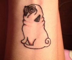 Tatuagem pug