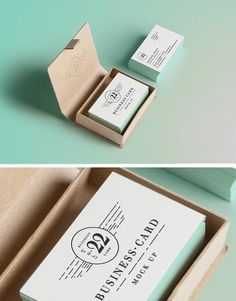 PSD Business Card MockUp #2 | GraphicBurger