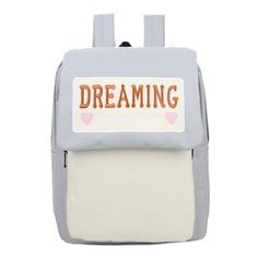 f94e0ad8540f itGirl Shop CLEVER PALE CUTE COLLEGE BACKPACK Aesthetic Apparel ...