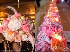 Pink & Gold French Masquerade Inspired