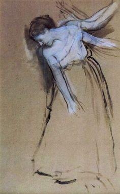 Edgar Degas (1834-1917, France) | étude