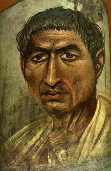 Looks abit like Traian http://www.egypttravelplans.com/images/pix/Fayoum-Portrait-I.jpg