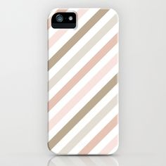 Pink & Gold Diag iPhone Case by Vitalic Photo