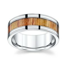 Best wood ring so far and affordable! Titanium and Wood Wedding Band