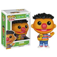Sesame Street POP Ernie Vinyl Figure
