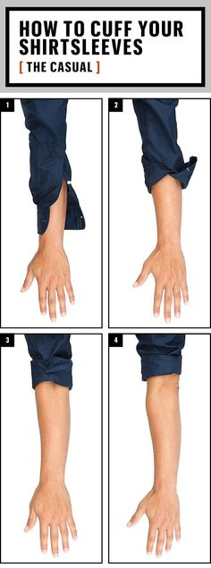 The Definitive Guide to Rolling Up Your #Sleeves