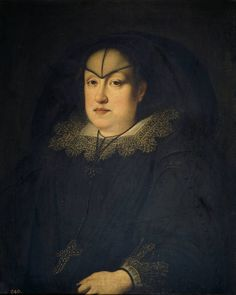 Justus Sustermans. Maria Magdalena of Austria-Styria, Grand Duchess of Tuscany, in mourning for her husband, Grand Duke Cosimo II, 1627