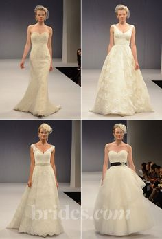 Brides.com: 2013 Wedding Dress Collections. Browse the Fall 2013 wedding dress collection by Anne Barge