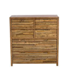 Charlie Reclaimed Wood 6 Drawer Tallboy available online at Barker & Stonehouse. Browse our fabulous range today!