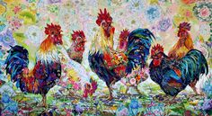 """Roosters"" - Danny Amazonas"