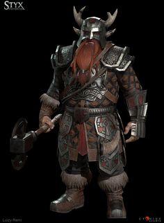 Fantasy Dwarf, Fantasy Armor, Medieval Fantasy, Fantasy Character Design, Character Concept, Character Art, Concept Art, Dnd Characters, Fantasy Characters