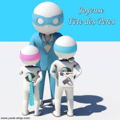Pour la fête des pères, Super Yonis à été gâté et vous souhaite de passer une agréable journée en famille. Dorlotez votre papa. Yonis-Shop.com