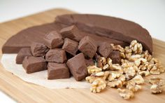 Sweet, Dark n' Nutty-Gritty Fudge / @DJ Foodie / DJFoodie.com