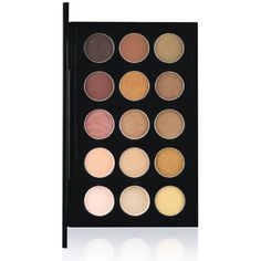 MAC Nude EyeShadow x 15 Palettes ❤ liked on Polyvore featuring beauty products, makeup, eye makeup, eyeshadow, beauty, eyes, filler, nude eyeshadow and palette eyeshadow