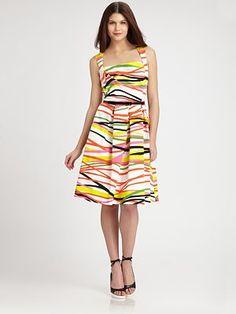 David Meister - Cotton Dress - Saks.com