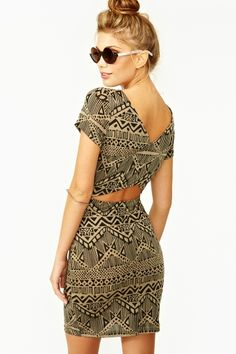 Mayan Cutout Dress in Clothes Dresses at Nasty Gal I Dress, Dress Outfits, Cute Outfits, Cute Dresses, Beautiful Dresses, 2014 Fashion Trends, Cutout Dress, Well Dressed, Passion For Fashion
