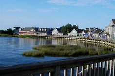 Waterfront Shops in Duck, North Carolina (Duck General Store is one of my favorite spots!)