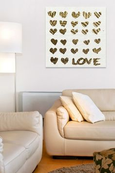 In The Papers Gold Canvas Art on @HauteLook
