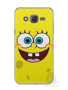 Capa Capinha Samsung J5 Bob Esponja #2 - SmartCases - Acessórios para celulares e tablets :)