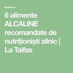 6 alimente ALCALINE recomandate de nutriționiști zilnic | La Taifas