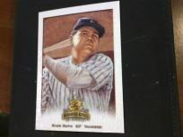 Babe Ruth 2002 SAMPLE CARD